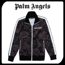 Palm Angels Stripes Flower Patterns Tropical Patterns Unisex