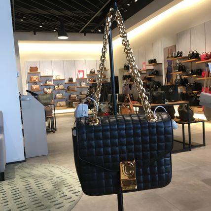 CELINE C Small C Bag In Quilted Calfskin