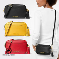 Michael Kors Casual Style Tassel 3WAY Plain Leather Party Style