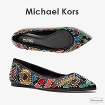 Michael Kors Casual Style Leather Party Style With Jewels Elegant Style