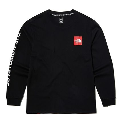THE NORTH FACE Long Sleeve Unisex Street Style Long Sleeves Logo T-Shirt 2