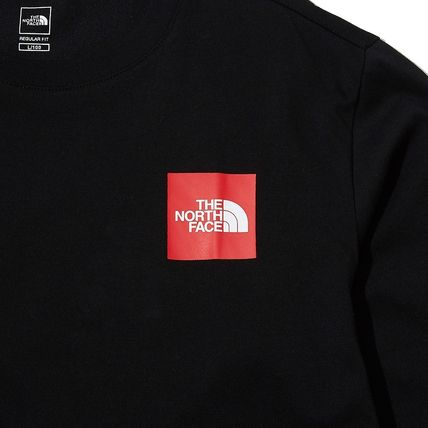 THE NORTH FACE Long Sleeve Unisex Street Style Long Sleeves Logo T-Shirt 5