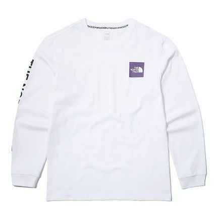 THE NORTH FACE Long Sleeve Unisex Street Style Long Sleeves Logo T-Shirt 9