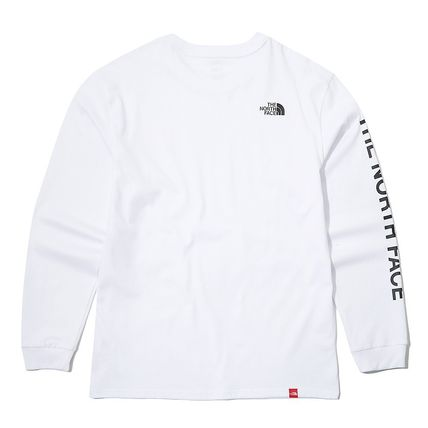 THE NORTH FACE Long Sleeve Unisex Street Style Long Sleeves Logo T-Shirt 10