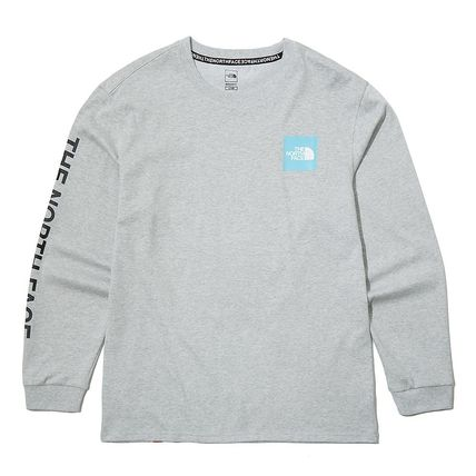 THE NORTH FACE Long Sleeve Unisex Street Style Long Sleeves Logo T-Shirt 15
