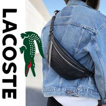 LACOSTE 2WAY Plain Leather Bags