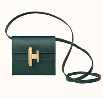 HERMES Casual Style 2WAY Plain Handmade Party Style Elegant Style