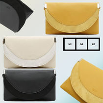 MISAKO Faux Fur Blended Fabrics 2WAY Clutches