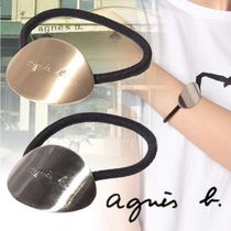 Agnes b Casual Style Silver Hair Accessories