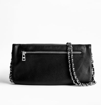 ZADIG & VOLTAIRE Clutches Casual Style 2WAY Plain Leather Clutches 3