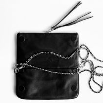 ZADIG & VOLTAIRE Clutches Casual Style 2WAY Plain Leather Clutches 6