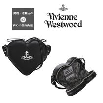Vivienne Westwood Heart Casual Style Party Style Shoulder Bags