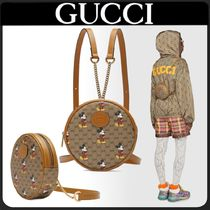 GUCCI Monogram Casual Style Unisex Canvas Collaboration 2WAY