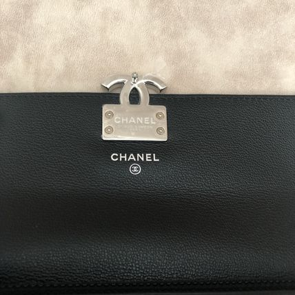 CHANEL Long Wallets Calfskin Long Wallets 10