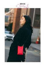 BBYB Casual Style Unisex Faux Fur Street Style Plain Office Style