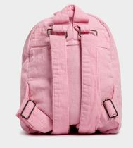 STUSSY Casual Style Suede Plain Backpacks
