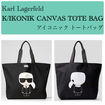 Karl Lagerfeld A4 Totes