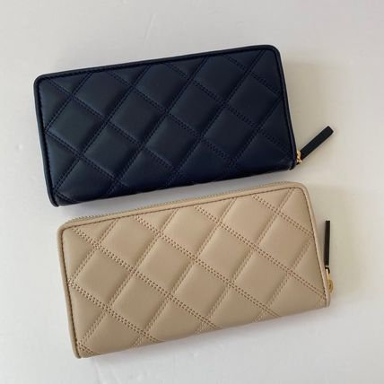 Tory Burch Leather Long Wallets