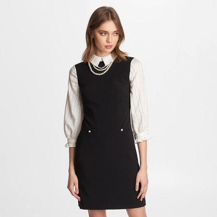Short Casual Style Cropped Party Style Elegant Style Dresses