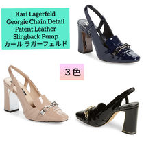 Karl Lagerfeld Casual Style Enamel Chain Plain Party Style Office Style