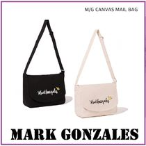 Mark Gonzales Unisex Canvas Street Style A4 Plain Other Animal Patterns