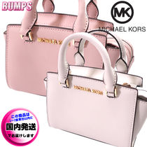 Michael Kors SELMA Casual Style Bag in Bag 2WAY Plain Leather Party Style