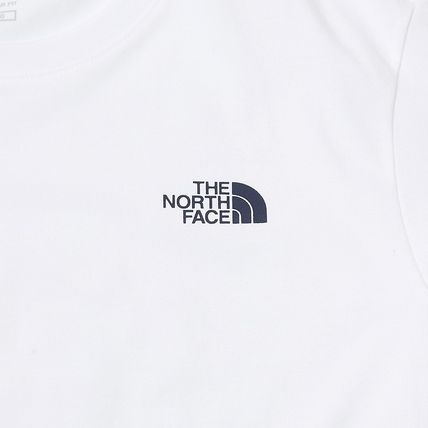 THE NORTH FACE More T-Shirts Unisex Street Style Plain Cotton Logo Outdoor T-Shirts 11