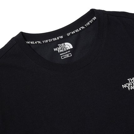 THE NORTH FACE More T-Shirts Unisex Street Style Plain Cotton Logo T-Shirts 16