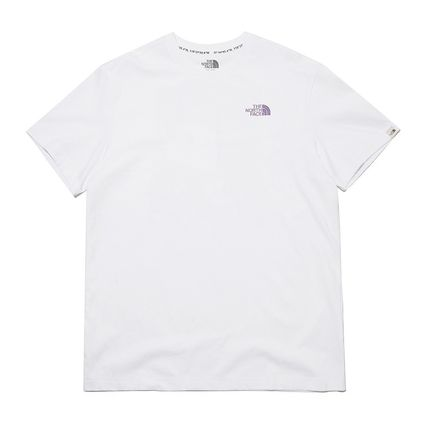 THE NORTH FACE More T-Shirts Unisex Street Style Plain Other Animal Patterns Cotton Logo 2