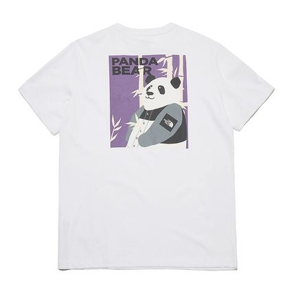 THE NORTH FACE More T-Shirts Unisex Street Style Plain Other Animal Patterns Cotton Logo 3