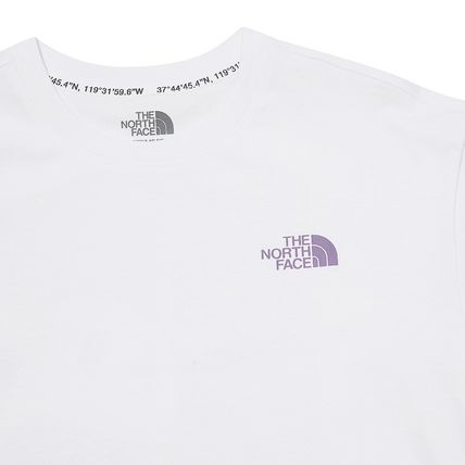 THE NORTH FACE More T-Shirts Unisex Street Style Plain Other Animal Patterns Cotton Logo 5