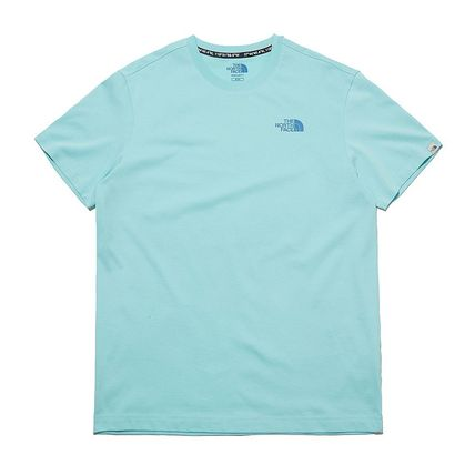THE NORTH FACE More T-Shirts Unisex Street Style Plain Other Animal Patterns Cotton Logo 11