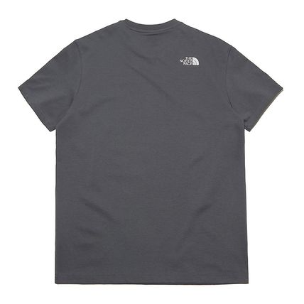 THE NORTH FACE More T-Shirts Unisex Street Style Plain Other Animal Patterns Cotton Logo 15