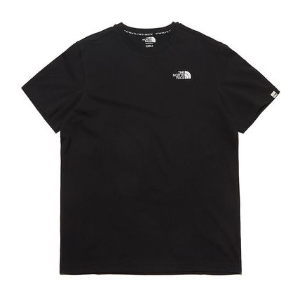 THE NORTH FACE More T-Shirts Unisex Street Style Plain Other Animal Patterns Cotton Logo 17