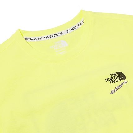 THE NORTH FACE More T-Shirts Unisex Street Style Plain Cotton Logo Outdoor T-Shirts 4