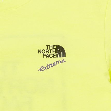 THE NORTH FACE More T-Shirts Unisex Street Style Plain Cotton Logo Outdoor T-Shirts 5