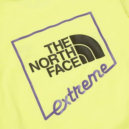 THE NORTH FACE More T-Shirts Unisex Street Style Plain Cotton Logo Outdoor T-Shirts 7