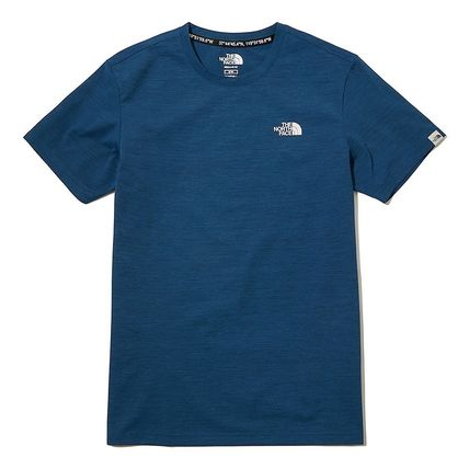 THE NORTH FACE More T-Shirts Unisex Street Style Plain Cotton Logo Outdoor T-Shirts 8