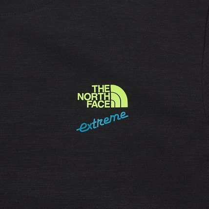 THE NORTH FACE More T-Shirts Unisex Street Style Plain Cotton Logo Outdoor T-Shirts 13