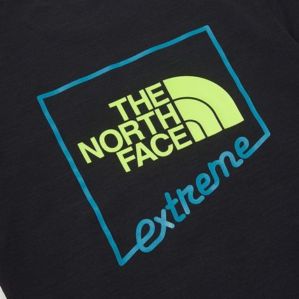 THE NORTH FACE More T-Shirts Unisex Street Style Plain Cotton Logo Outdoor T-Shirts 14