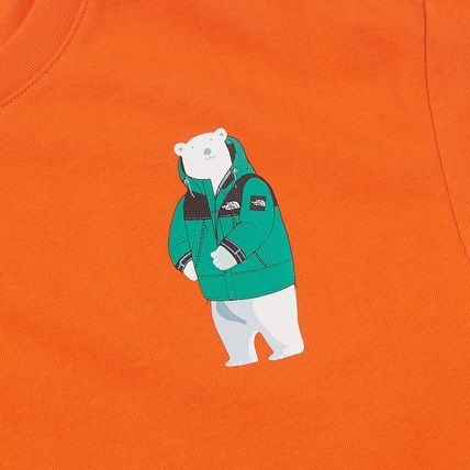 THE NORTH FACE More T-Shirts Unisex Street Style Other Animal Patterns Cotton Logo 4