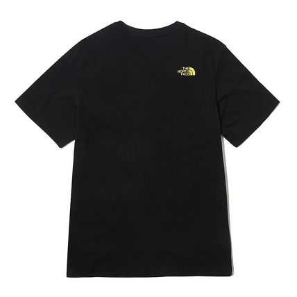 THE NORTH FACE More T-Shirts Unisex Street Style Other Animal Patterns Cotton Logo 9