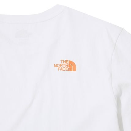 THE NORTH FACE More T-Shirts Unisex Street Style Other Animal Patterns Cotton Logo 16