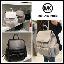 Michael Kors Casual Style Unisex A4 2WAY Plain Backpacks