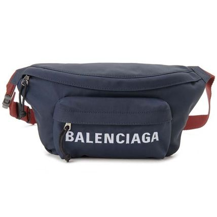 BALENCIAGA Plain Hip Packs