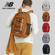 New Balance Unisex Street Style A4 2WAY Plain Backpacks