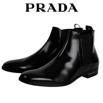 PRADA Leather Chelsea Boots Chelsea Boots