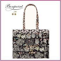 Bonpoint Flower Patterns Totes