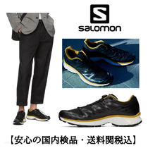 Salomon Blended Fabrics Street Style Collaboration Sneakers