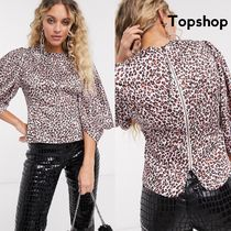 TOPSHOP Leopard Patterns Casual Style Other Animal Patterns Medium